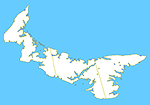 Small Map - Prince Edward Island